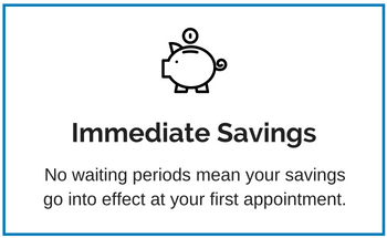 Discount Dental Plan immediate savings